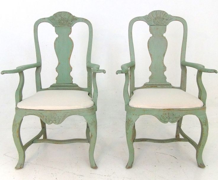 Par of Swedish armchairs, 19th C. http://www.selected-antiques.dk/11437-2v-------two-swedish-armchairs-19th-c1