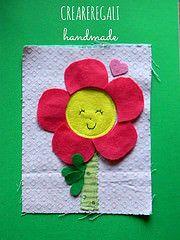 pagina fiore (Creareregali Handmade) Tags: book quiet bambini libri feltro velcro fiore gioco leggere stoffa pettirosso bottoni ricamo attivit pannolenci