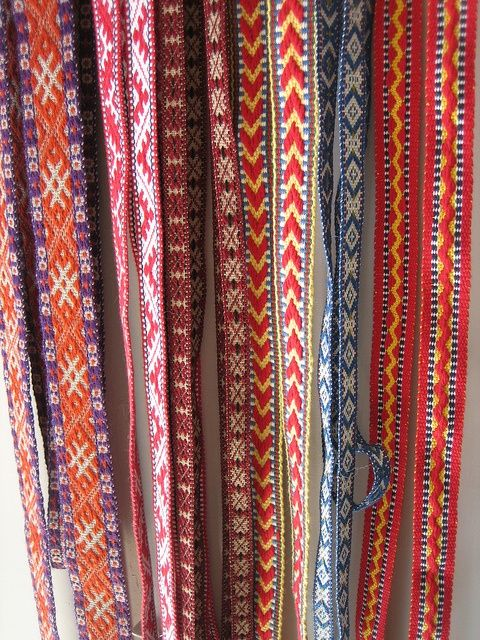 litovské tkanice on Pinterest | Band, Weaving and Handfasting