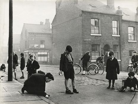 London street life, 1950s. Photographs by Roger Mayne.