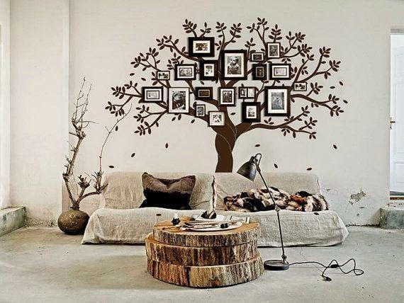 17 mejores ideas sobre murales de pared de rboles en - Paredes con dibujos ...