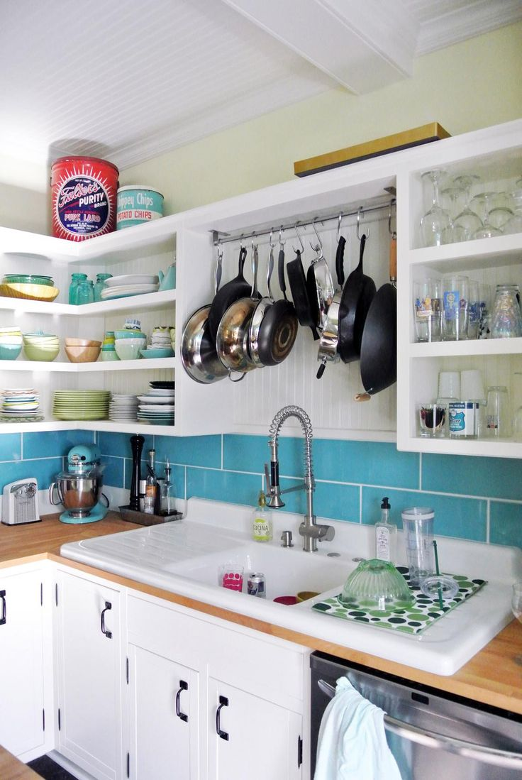 Kitchen: Pot Rack Over The Sink?