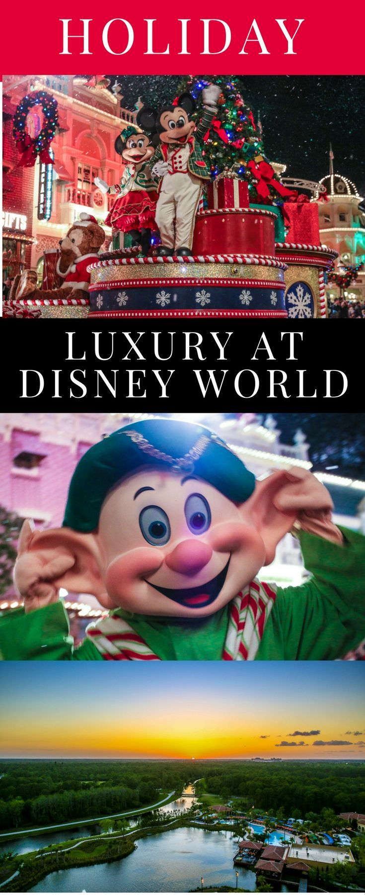 Mickey's Very Merry Christmas Party is a perfect long weekend trip to Disney World. Let us help you plan the perfect trip before the crowds.