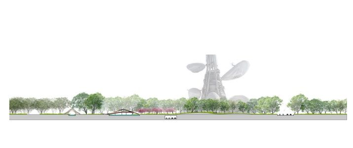 Taichung Gateway Park Competition Entry. West 8 (2011)