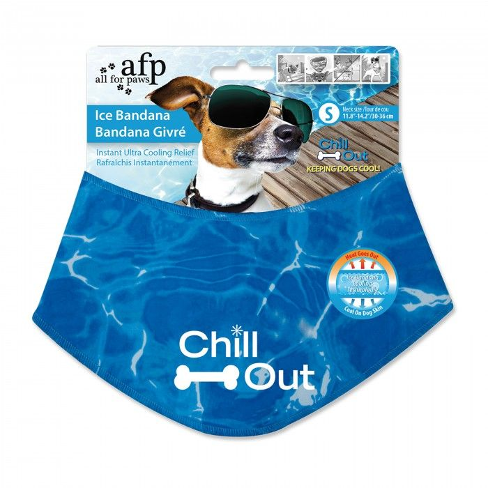 Ice Bandana!   Just soak the bandana in cold water, and there is a cooling technology that once the bandana touches the skin, the heat goes out! Comes in sizes: Small, Medium, Large.