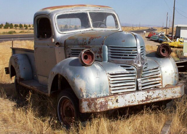 1939-1947 Dodge Plymouth Fargo Trucks