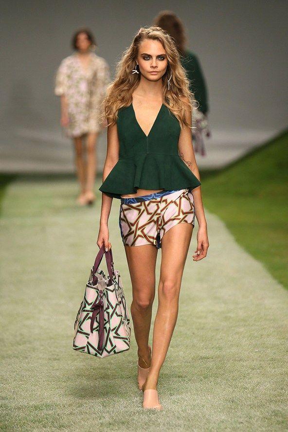 Icon of Summer Style Cara Delevingne: runway royalty