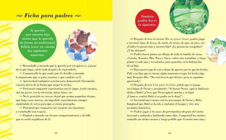 Fichas para padres de cuentos para educar niños felices