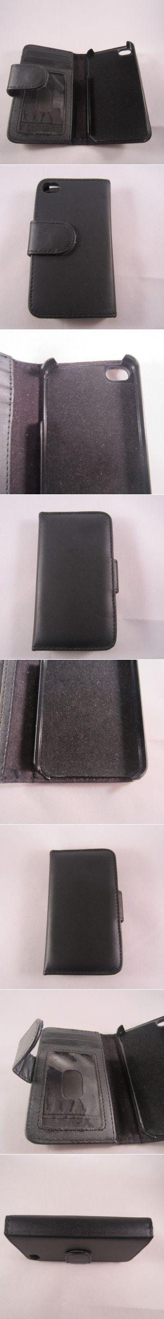 Black iPhone 4-4s Wallet