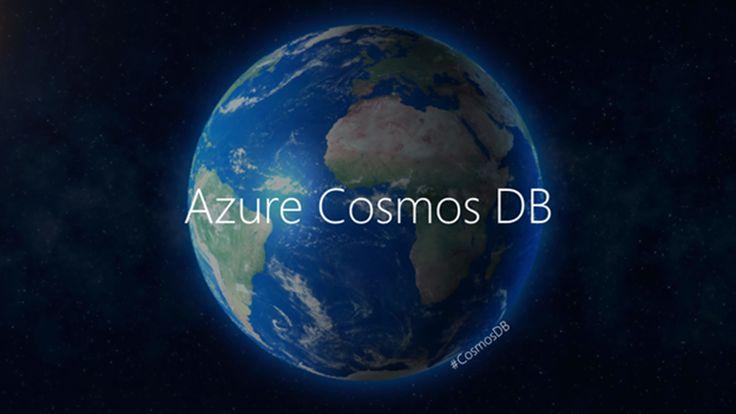 Azure #CosmosDB @ Microsoft Connect(); 2017