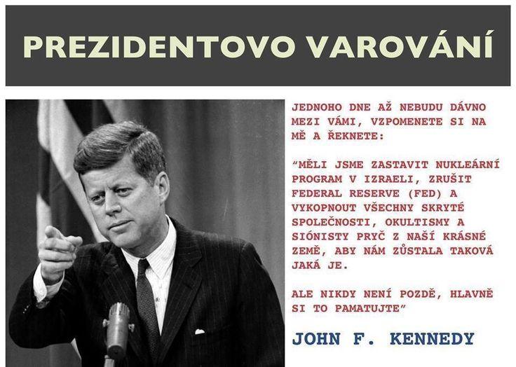 prečo musel zomrieť Kennedy