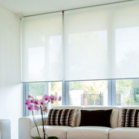 Roller Blinds For Window Window Treatments Pinterest