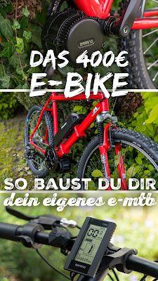 So baust du dir dein eigenes E-Bike mit Mittelmotor