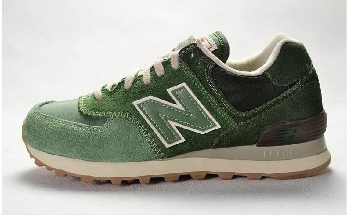 Lavt Priset New Balance 574 Grønne Løpesko