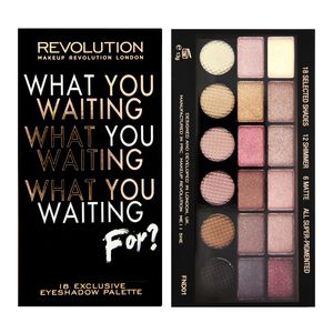Makeup Revolution Salvation Palette Waiting - Makeup Revolution - Eye Shadow Palettes at Superdrug