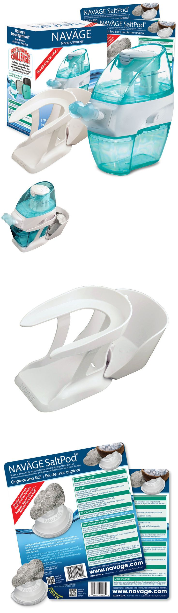 Neti Pots and Cleansers: Navage Nasal Irrigation Bundle: Nose Cleaner And 40 Saltpods -> BUY IT NOW ONLY: $76.99 on eBay!