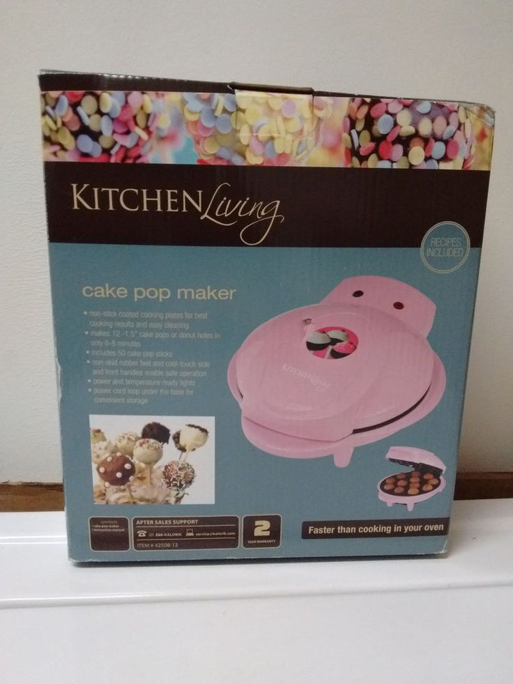 Bella Cake Pop Maker Recipe Booklet