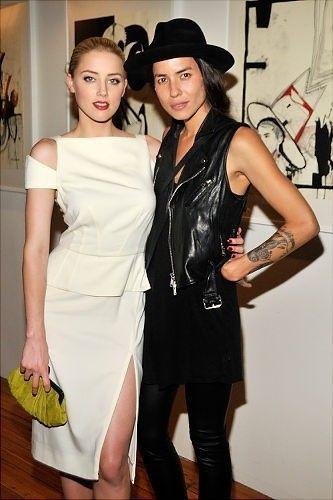 Coppie lesbiche: Amber Heard e Tasya Van Ree - La coppia lesbica Amber Heard e Tasya Van Ree