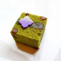 【抹茶浮島】上生菓子 和菓子 wagashi