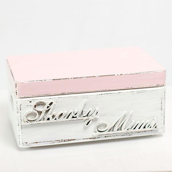 Box for little girl's treasures