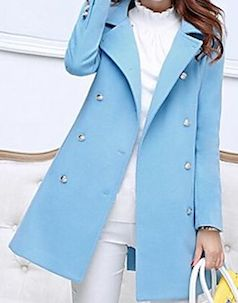 baby blue trench coat http://www.myluxefinds.com/2015/02/cute-trench-coats-for-spring-2015.html