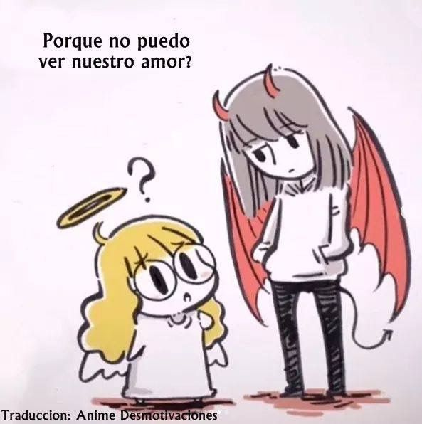 Pin De Martina Gnesotto En Devils Lovel Angeles Y Demonios Comic Parejas Anime Bonitas