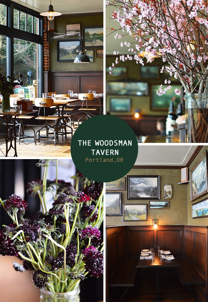 The Woodsman Tavern in Portland. From the Spotted SF blog.