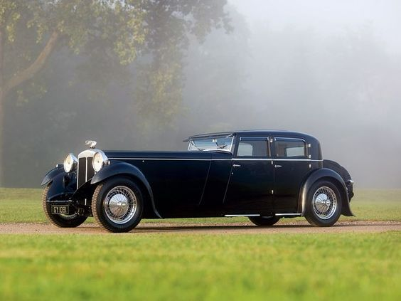1932 - Daimler Double Six 40-50 Martin Walter Sports Saloon.