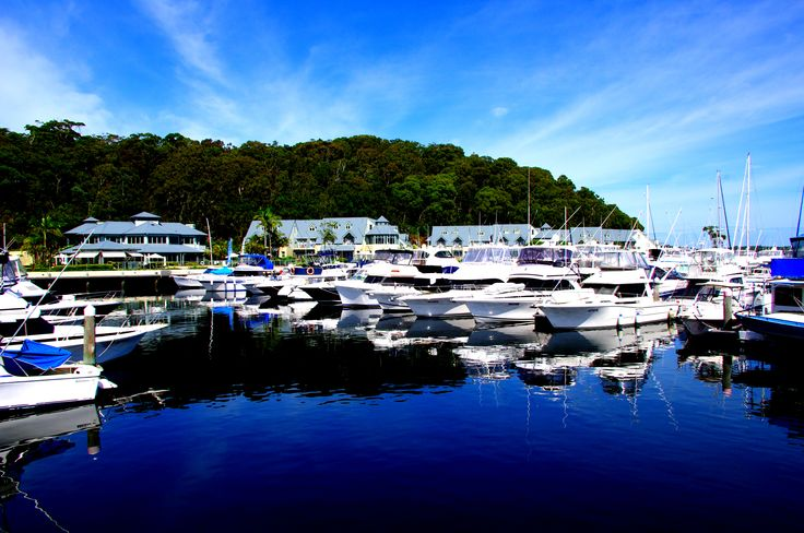 """""""Peppers Anchorage Resort"""" Corlette, Nelson Bay, NSW , Australia"""