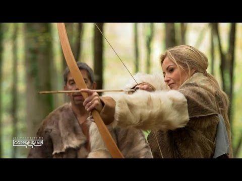 Adriana et Michel chassent comme les hommes préhistoriques - YouTube