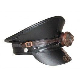 Casquette Militaire Officier Rétro Steampunk Goggles