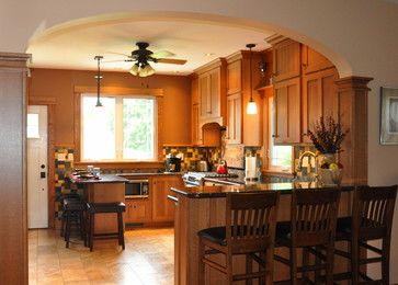 Beautiful Craftsman Archway Craftsman Kitchen Chicago Someone 39 S In The Kitchen Inc