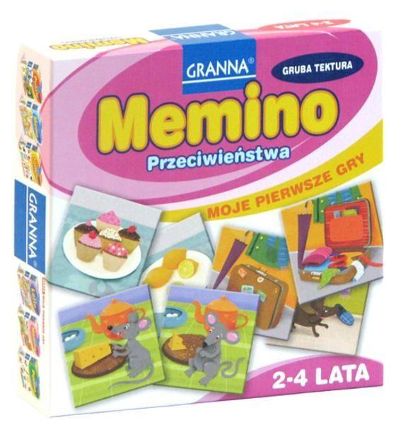 Granna Memino - Gra dla małych dzieci - Satysfakcja.pl