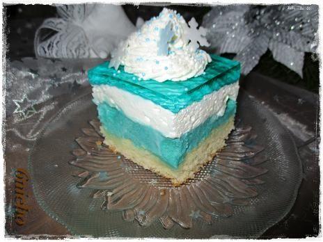 ciasto Frozen; kraina lodu