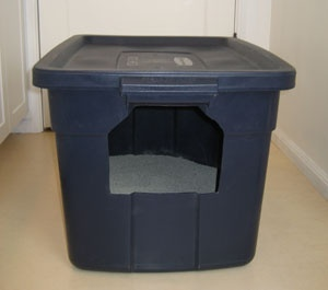 DIY: Make Your Own Cat Litter Box. Our next litter box. diy-to-do-list
