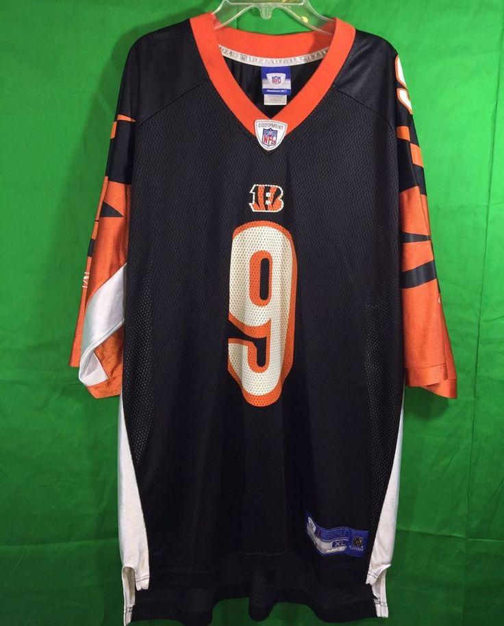 NFL Cincinnati Bengals Carson Palmer #9 Reebok Football Jersey Size XL  #Reebok #CincinnatiBengals