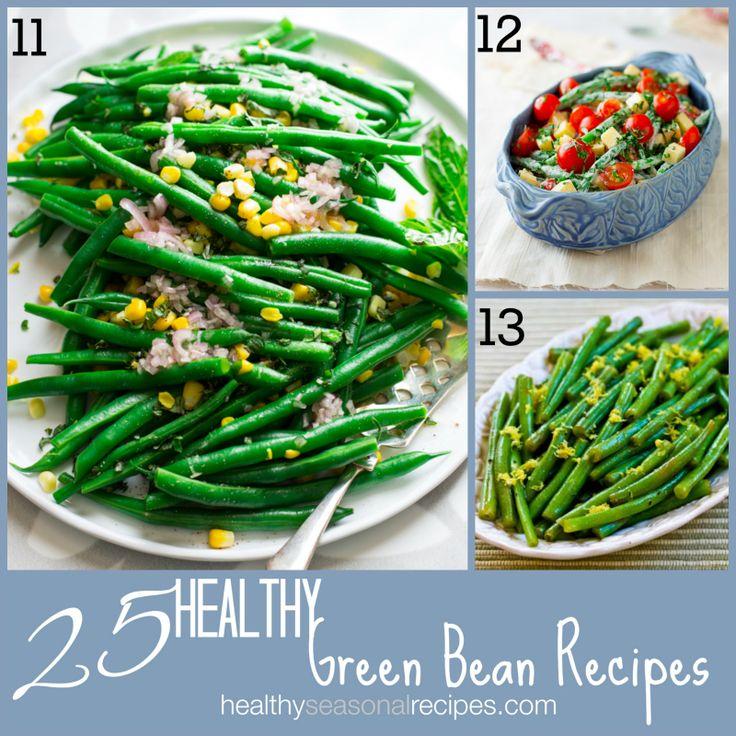 25 healthy green bean recipes on healthyseasonalrecipes.com