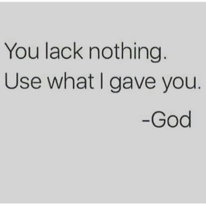 Truth! The word says be content in whatever state you're in. God will and has provided... #JustChill