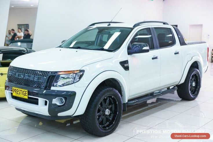 2013 Ford Ranger PX Wildtrak 3.2 (4x4) White Automatic 6sp A Utility #ford #ranger #forsale #australia