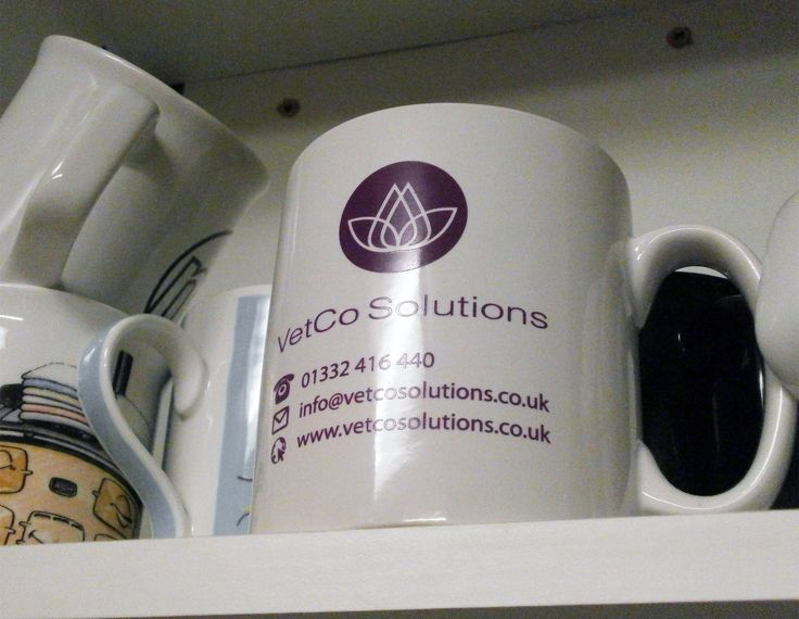 Have a look at these great VetCo Solutions​ Mugs. The Purfect mug to add to your collection... https://www.promoparrot.com/cambridge-mug.html #mugs #promo #vets