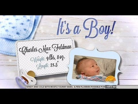 Savannah Guthrie Gives Birth to Baby Boy Named Charles Max Feldman