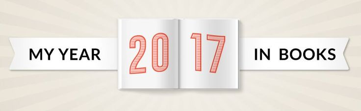 My Year in Books! See what I read in 2017! #goodreads #yearinbooks