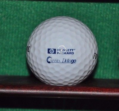 Hewlett Packard #HP and Synnex Datago logo golf ball. Excellent Condition
