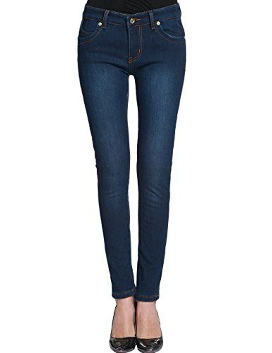 Camii Mia Women's Winter Slim Fit Flannel Lined Jeans Pants (26, Blue) Camii Mia http://www.amazon.com/dp/B00QCCIZ48/ref=cm_sw_r_pi_dp_ZHRwvb0FRF1Q5