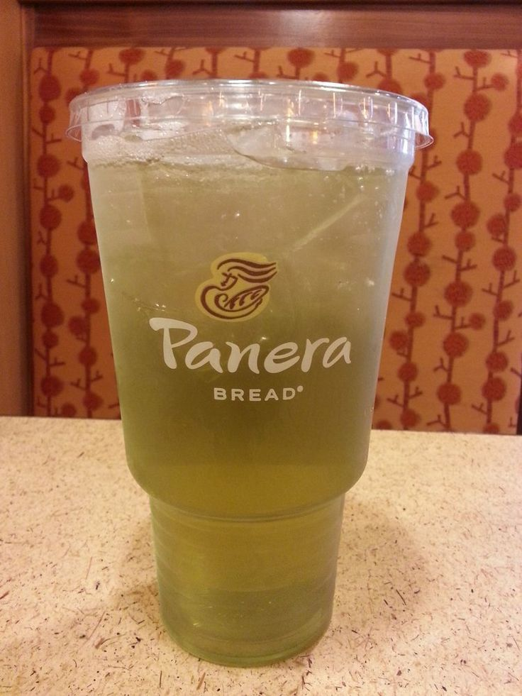 Panera bread iced green tea loveee drink pinterest for Drinks with iced tea