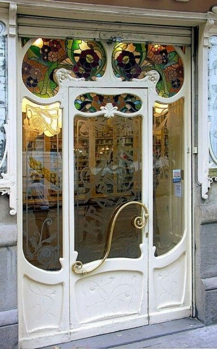 Barcelona. Stained glass.