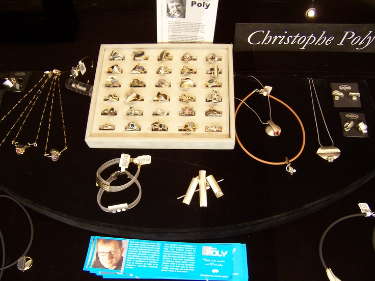 Montreal artist Christophe Poly creates unique jewellery that is sure to get noticed!