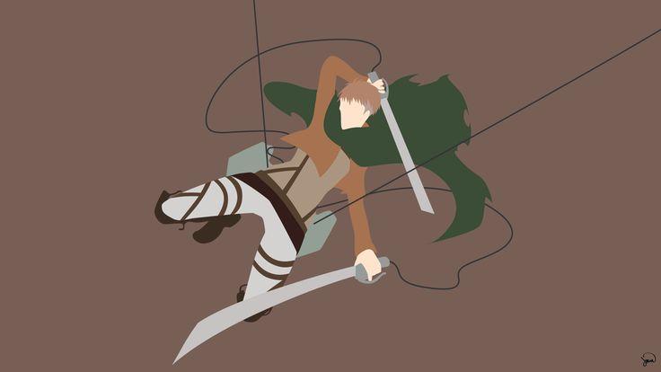 Jean Kirschtein (Shingeki no Kyojin) Minimalism by greenmapple17