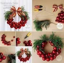 Resultado de imagen para adornos para puerta de navidad