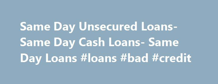 Fast Business Loans For Bad Credit